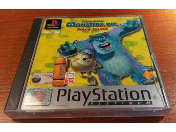 Monsters Inc Scare Island - Komplett - PS1 / Playstation 1 - Disney - Pixar