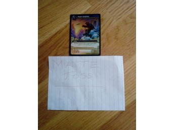 World of Warcraft TCG - Paper Airplane. March of the Legion LOOT Kort