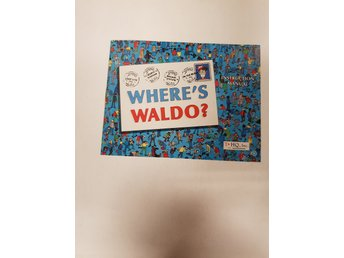 Wheres Waldo - Manual NES NINTENDO - USA