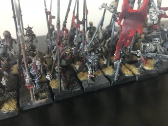 SKELETON WARRIORS Warhammer- age of sigmar - Kings of war