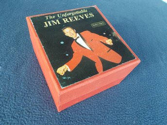 JIM REEVES - The unforgettable, 6-kassett box Reader's Digest Holland 1976