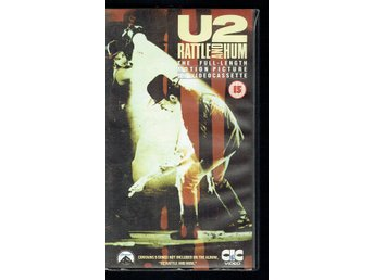 VHS - U2 rattle and hum
