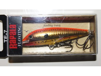 Rapala Team Esko TE07 CGFR  (Chrome Gold Fluorescent Red ) 7cm/6g