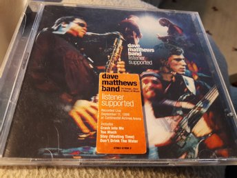 "CD Dave Matthews Band ""Listener Supported"""