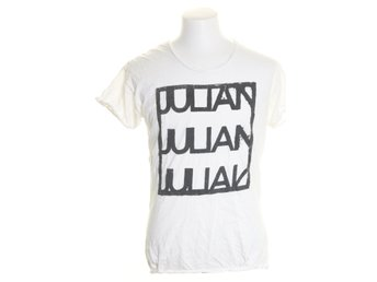 Julian Red, T-shirt, Strl: S, Svart/Vit