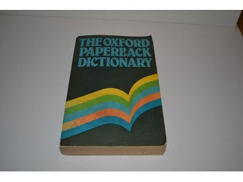 The oxford paperback dictionary - 1979 - poket