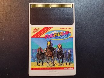 World Jockey - PC-Engine - Hu-Card