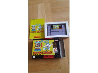Tiny Toon adventures Buster busts Loose! till super nintendo (SNES)