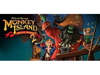 Monkey Island 2 Special Edition: LeChuck's Revenge (PC Steam Kod) 2010 Ny
