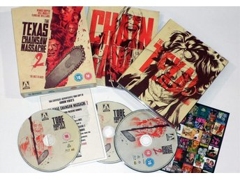 Texas Chainsaw Massacre 2 - Arrow Video - Ny inplastad