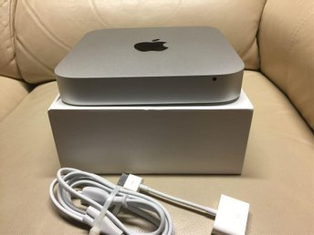 Apple Mac Mini (late 2012) 2,5GHz - 10GB RAM - 120GB SSD + 500GB HDD (FRI FRAKT)