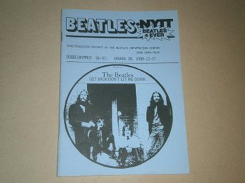BEATLES-NYTT #96-97 (December 1990) - Fint Skick!