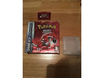 Pokemon ruby med box