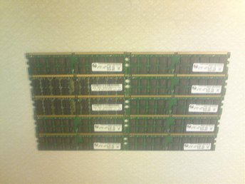 DDR2 server minnen 10*2GB PC2-3200R