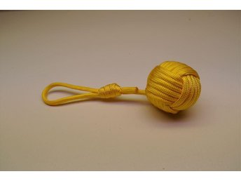 550 Paracord Monkeyfist boll stor nyckelring, 250cm paracord