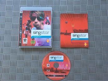 Singstar Till Playstation 3 PS3
