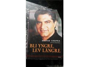 "Deepak Chopra, hälsoguru - ""Bli yngre, lev längre"", inbunden, Forum. - Järfälla - Deepak Chopra, hälsoguru - ""Bli yngre, lev längre"", inbunden, Forum. - Järfälla"