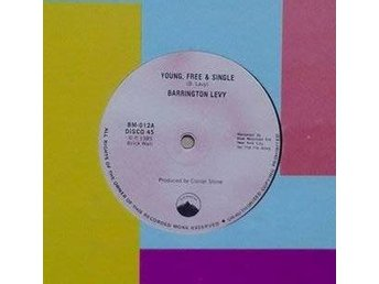 Barrington Levy title* Young, Free & Single* UK 12""