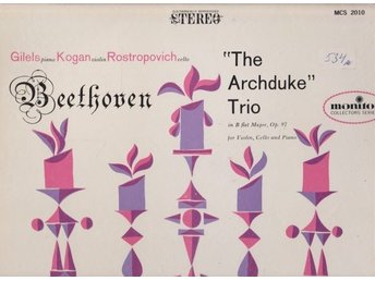 Beethoven: The Archduke Trio in B flat Major, Op. 97