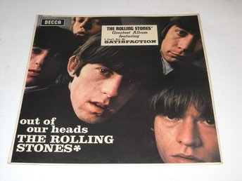 ROLLING STONES - OUT OF OUR HEADS LP MONO NEAR MINT TOPP EX !!