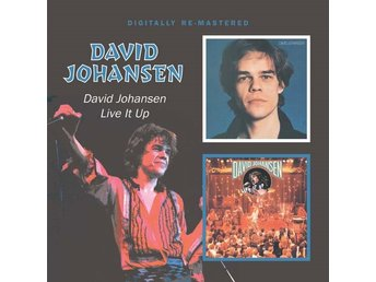 Johansen David: David Johansen + Live it up (CD)