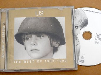 U2 The Best of 1980 - 1990 CD (Pride,New Year's Day,Sunday Bloody Sunday)