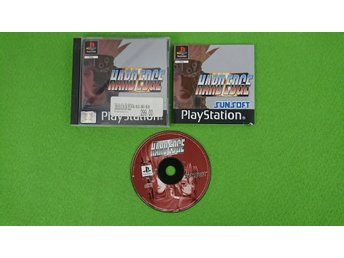 Hard Edge KOMPLETT Playstation 1 PSone ps1