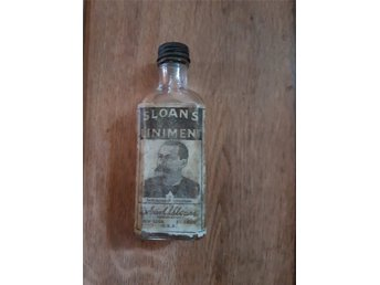 Flaska, Sloans Liniment.