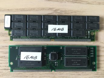 Amiga ram simm 2x16 mb (32 mb) blizzard/apollo etc
