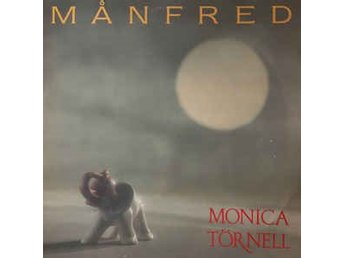 Monica Törnell ‎ Månfred - LP