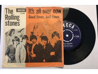 The Rolling Stones It's all over now 1964 Denmark
