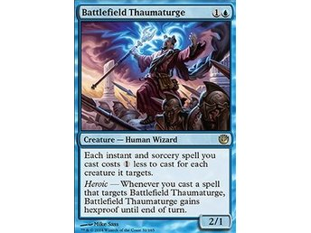 Magic the Gathering - Journey into Nyx - Battlefield Thaumaturge - FOIL
