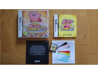 Nintendo DS: Kirby Super Star Ultra (svenskt/SWD)