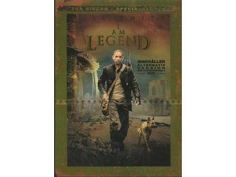 I am Legend 2-disc SPECIAL EDITION 2007 DVD Will Smith