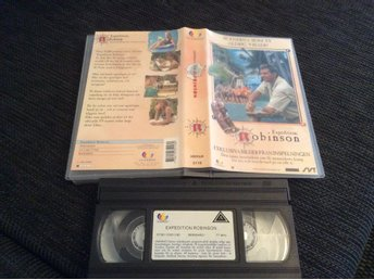 Scenerna som TV aldrig visade Expedition ROBINSON VHS  Anders Lundin
