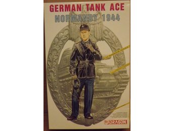 GERMAN TANK ACE NORMANDY 1944     Dragon 1/16 Byggsats