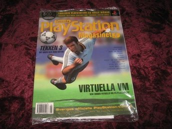 PLAYSTATION MAG NR6 MED CD  I ORGINALPLAST TEKKEN 3