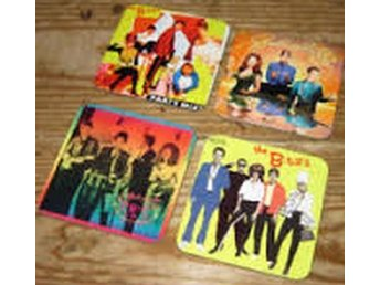 THE B-52`S COASTERS - Set of 4