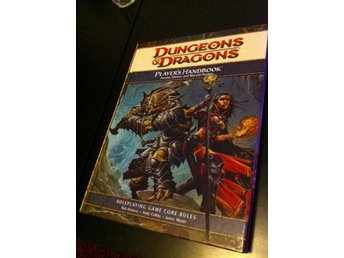 Dungeons & Dragons 4th edition,Players Handbook Roleplaying Game Core Rules