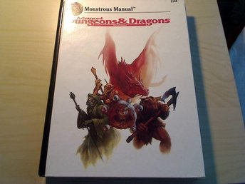 Ad&d monstrous manual dungeons and dragons