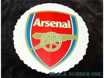 Arsenal tårtbild - 100 % ätbar sockerbild - Kolvereid - Arsenal tårtbild - 100 % ätbar sockerbild - Kolvereid