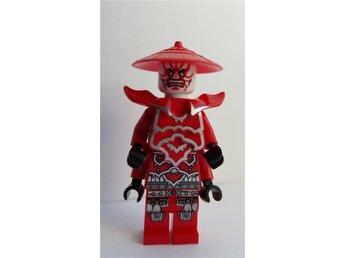 Lego - Figurer - Ninjago - General Kozu Röd Hatt NY FKL 1443 - Uddevalla - Lego - Figurer - Ninjago - General Kozu Röd Hatt NY FKL 1443 - Uddevalla