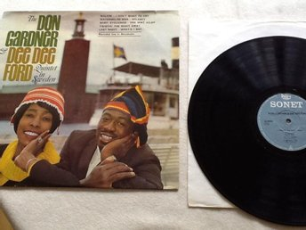 The Don Gardner & Dee Dee Ford Quintet in Sweden. Recorderorde live in Sweden 64