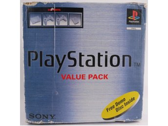 Playstation 1 konsoli (PS1) -  - PAL (EU)