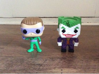 funko pop the joker & the riddler