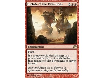 Magic the Gathering - Journey into Nyx - Dictate of the Twin Gods - FOIL
