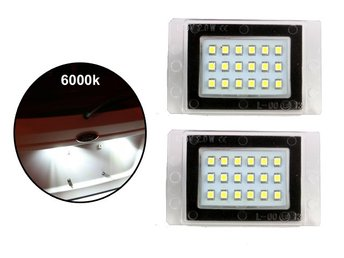 Volvo 855 V70 XC70 I Led skyltbelysning styling led 2-pack