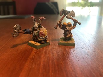 DWARF Heroes Warhammer- age of sigmar - Kings of war
