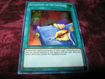 YU-GI-OH FULFILLMENT OF THE CONTRACTFOILAT HISU-EN052