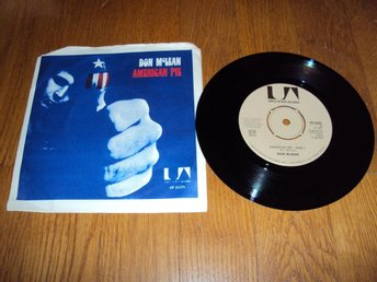 Don McLean - American pie part1 & 2 (7'')